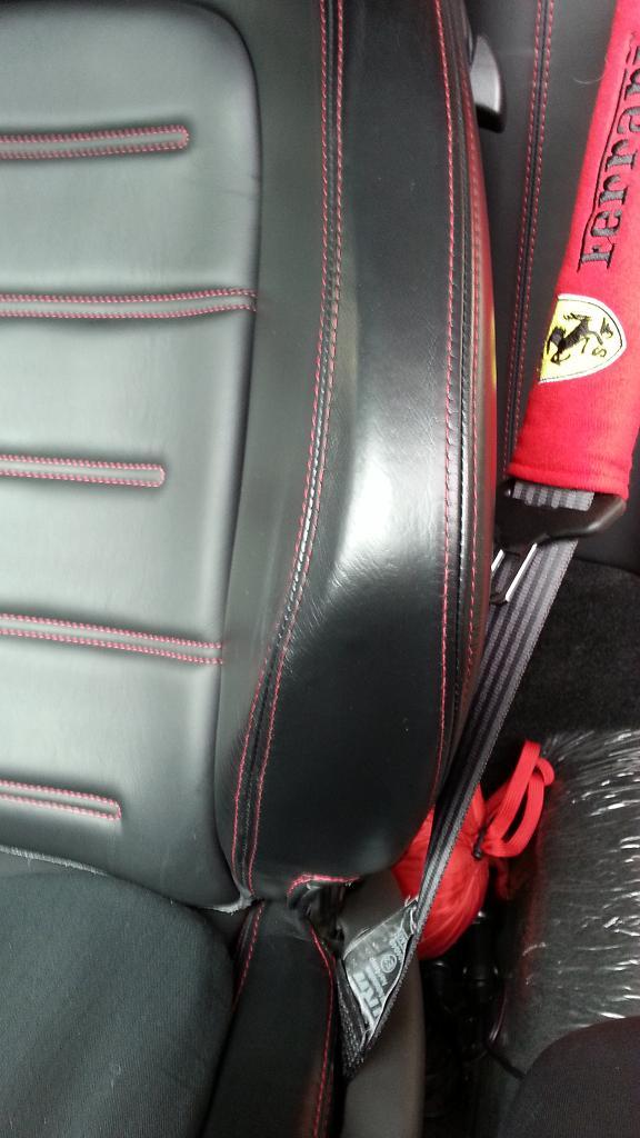 フェラーリ430シートアフターアップ