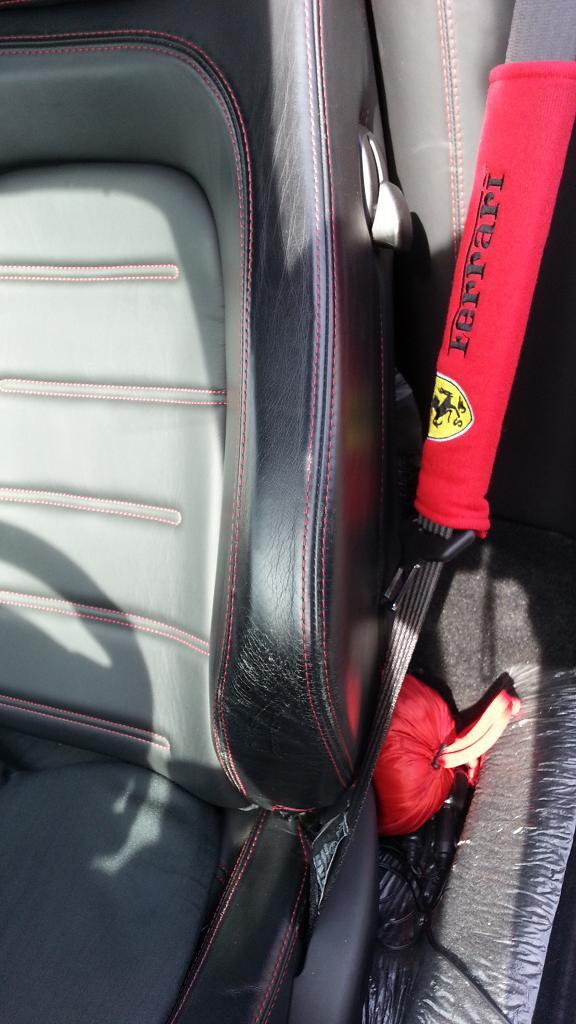 フェラーリ430シートビフォー
