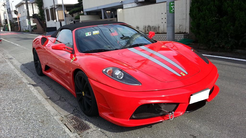 フェラーリ430斜め前