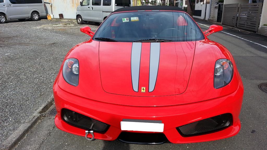フェラーリ430正面