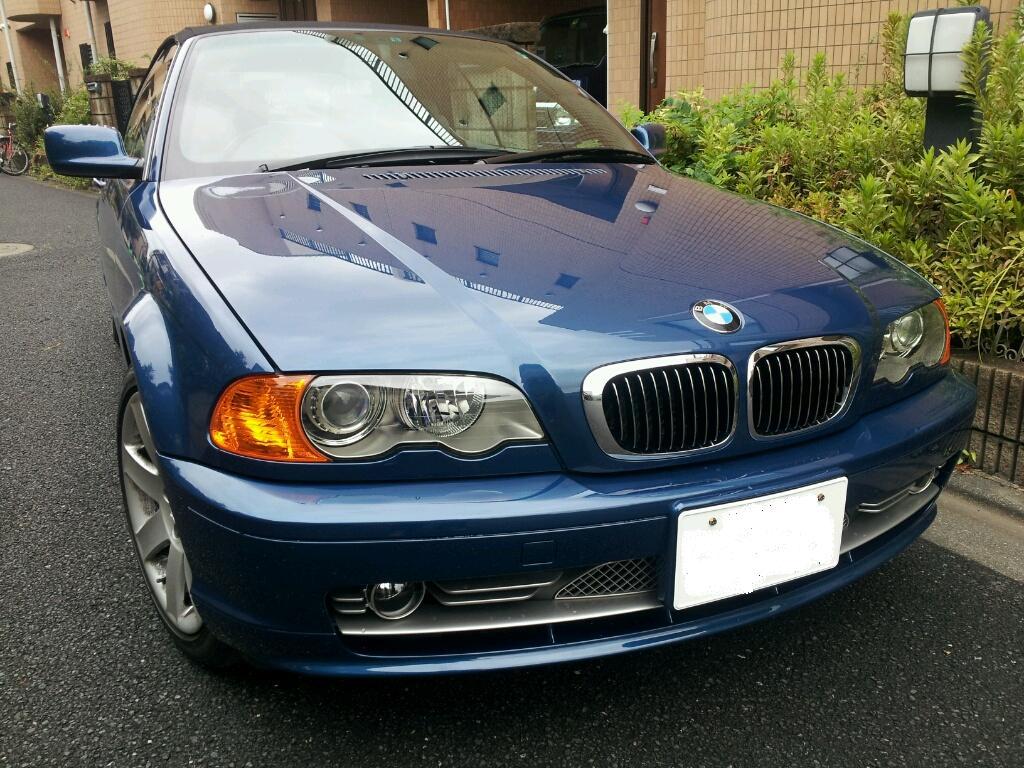 BMW 330 ホイールリペア