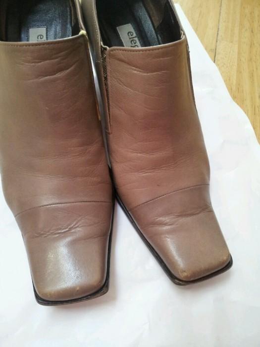 レディース 靴のリペア塗装