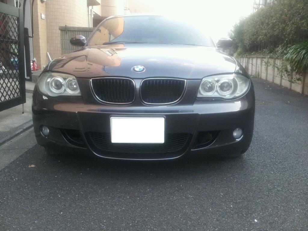 BMW ヘッドライト 傷 曇り 磨き