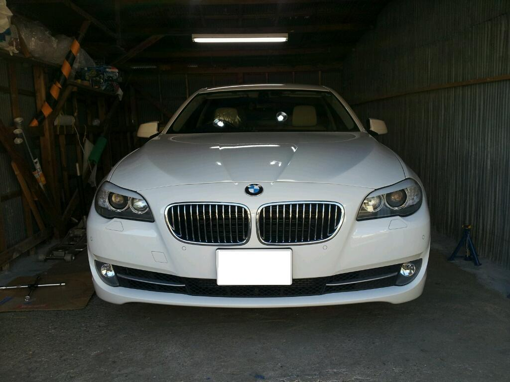 BMW 523 ホイール ガリ傷 修理