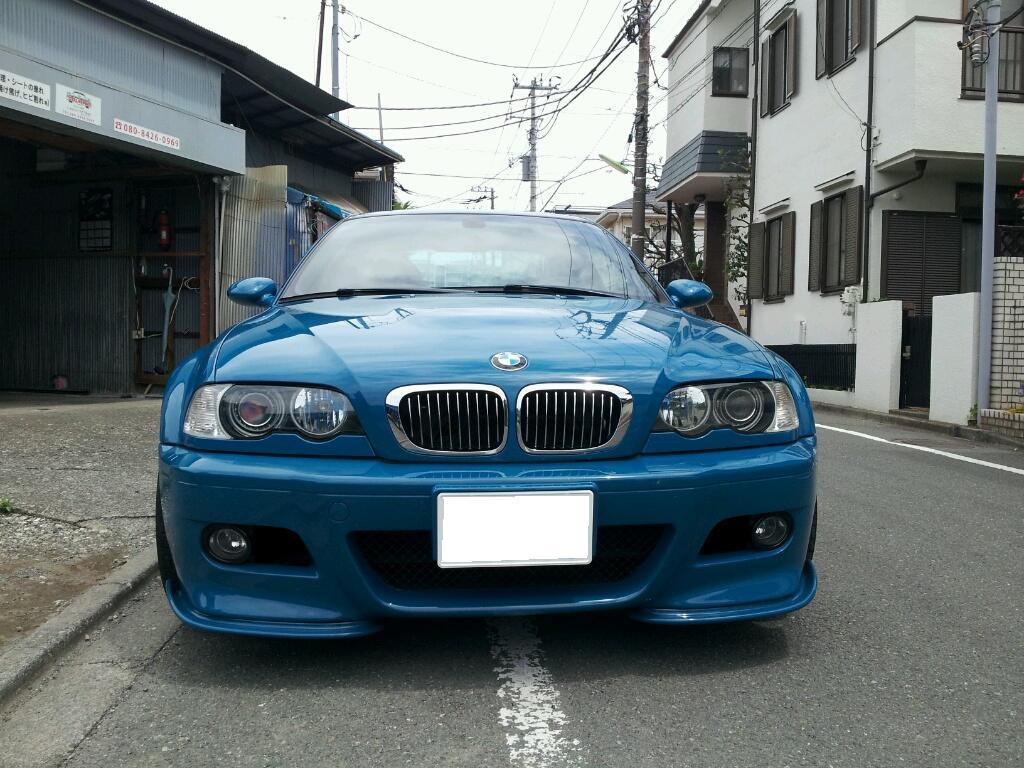 レザーシート 汚れ 変色 補修・補色 BMW M3