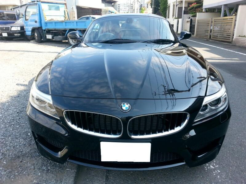 BMW Z4 E89 ハイパーシルバー ホイール ガリ傷 修理 リペア