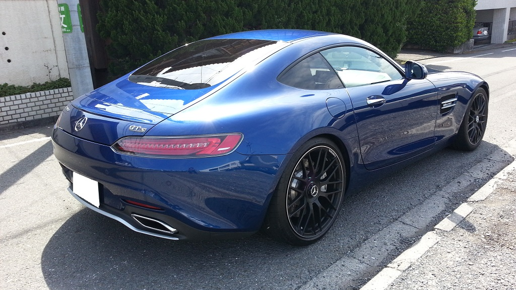 AMG GT S 斜め後