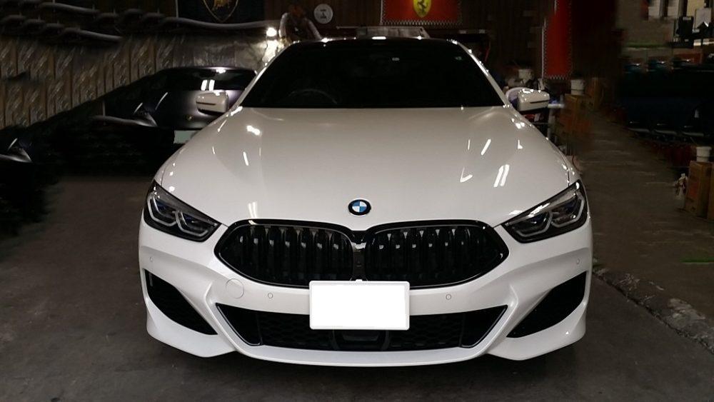 BMW 840 i  グランクーペ ホイール ガリ傷 修理 リペア 修正
