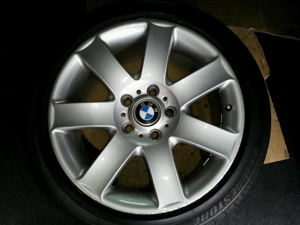 BMW ホイール ガリ傷のリペア