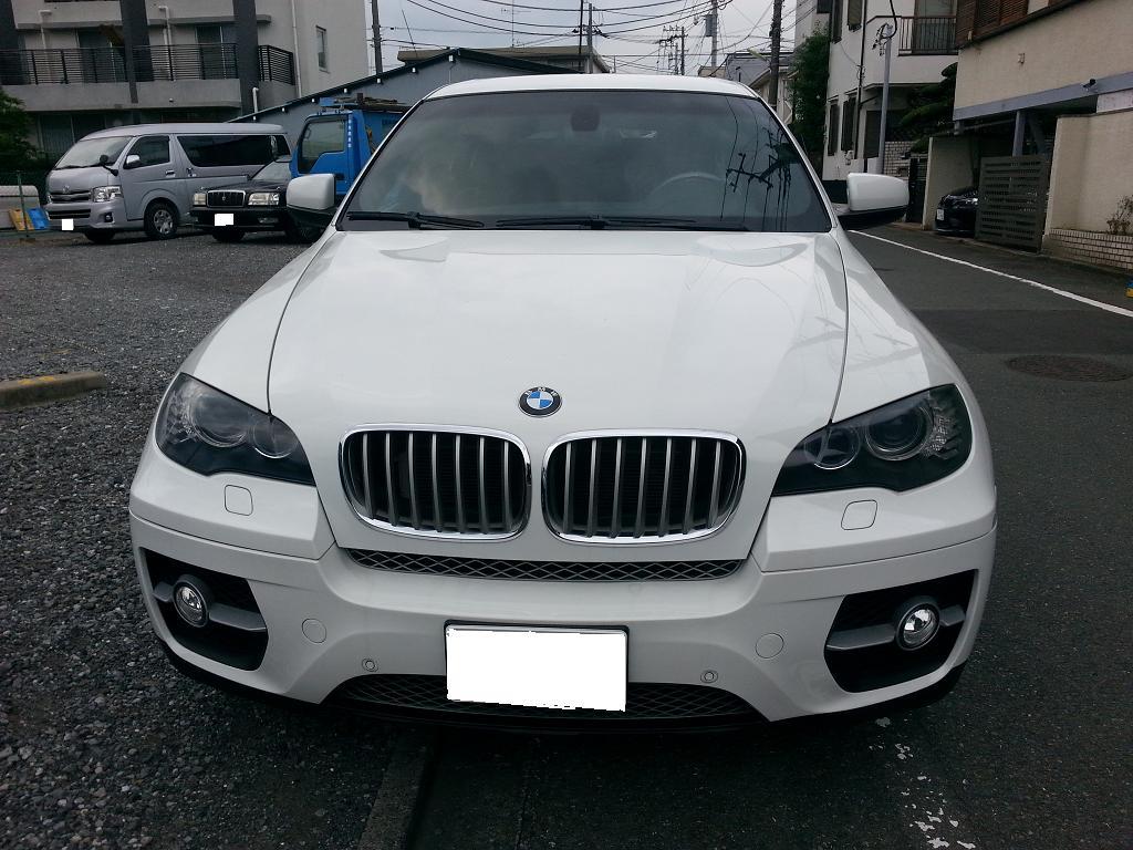 BMW X6 ホイール ガリ傷 修理 リペア
