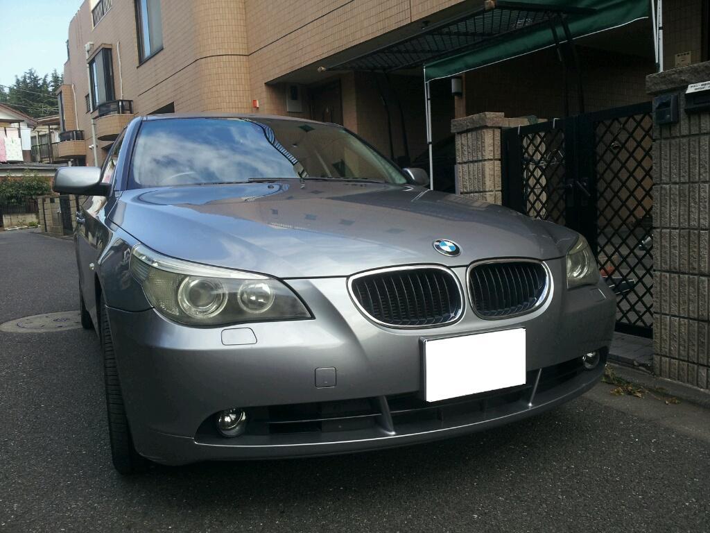 BMW ヘッドライト 傷、曇り 磨き